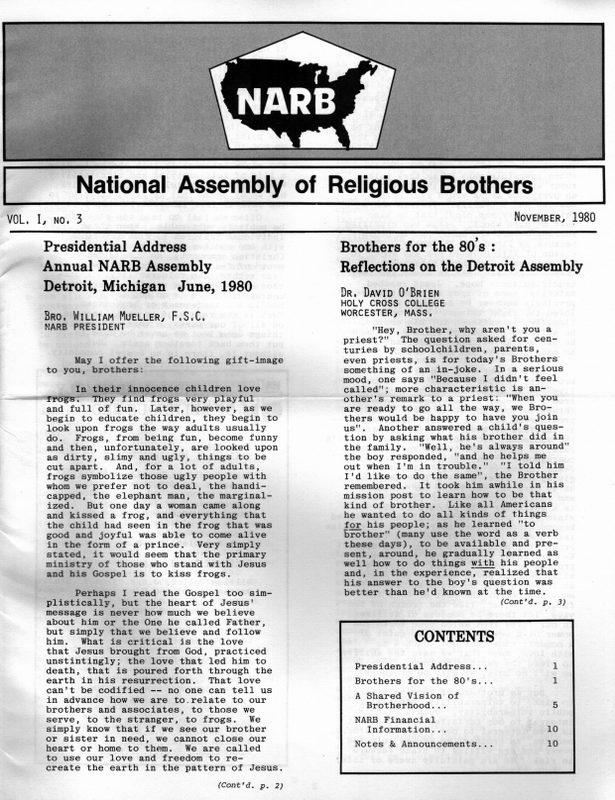 NARB November 1980